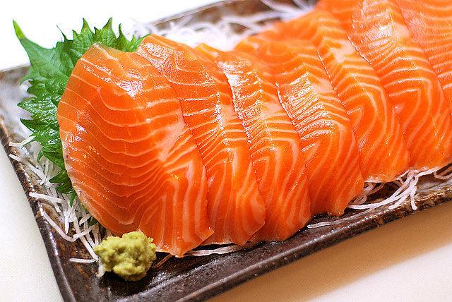 sashimi món ăn của người Nhật Bản